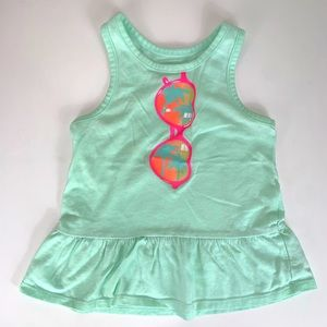 3T sunglasses tank top